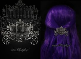 Carriage Hairclip by Euflonica