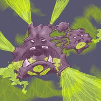 Weezing by Haiomi