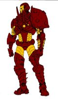 IronMan-At-Arms by causelessdemon