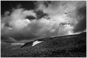Gaustatoppen by Saure