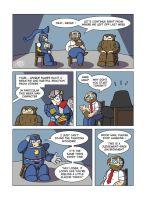 Despondent Mega Man - Self Esteem by JesseDuRona
