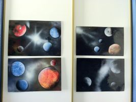 Spray Paint Posters by LuckySmores
