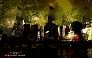 ::Urban City:: by Project89Designs