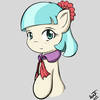 Coco Pommel Portrait by Chaikeon