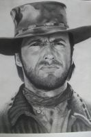 Clint Eastwood by depoi