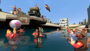 tf2 poolparty by nicechangeling