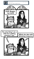 Tumblask: Totally Muggle by protowilson