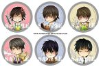::JUNJOU ROMANTICA BUTTONS SAMPLE:: by Suobi-chan