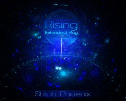 Rising EP Album Cover by Phoenixel-AB