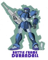 Battle Frame Durandall by Darcad