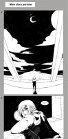 DGM Gute Nacht preview pages by darkn2ght