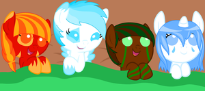 Baby Pony Adoptables by xPixels-Puff-Adoptsx