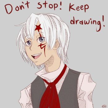 Keep Drawing! by LittleMads
