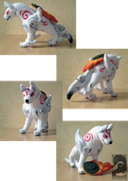 Okami - Amaterasu plush by Japandragon