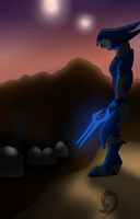 A Sangheili Story by EroomAlly