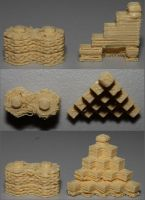First prints by fractalfiend