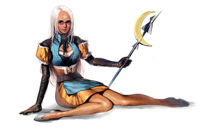 Lace Mage Gurl on thy Ground by xamxam