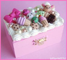 Kawaii Sweet Trinket Box by bitterSWEETones