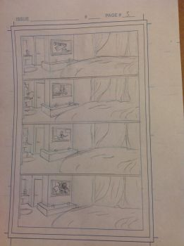 Spider-man rough Page 3 by Silentfool2022