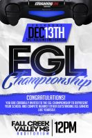EGL Championship Flyer by xman20