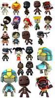 Little Big Planet Icon Pack 1 by Mike-Whitford