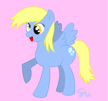 Derpy - My Little Pony by JulieFF