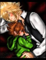 Giotto and Tsuna: Raising a Family by nicegal1