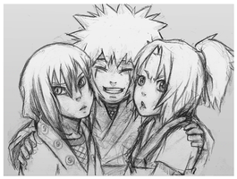 Legendary Sannin SKETCH by BukaCieDopadnie