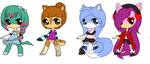 Adopts :AUDITION OPEN: by hellohowareyou02