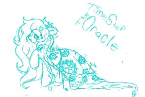 The Oracle -Sketch by LoreHoshi