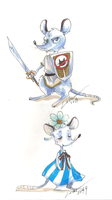 Mice by Lahara