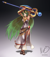 Palutena by hybridmink