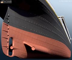 'Titanic: Honor and Glory' Exterior Model - 3 by Hudizzle