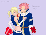 Nalu Valentine's Day by Mutsuki-K