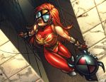 Mangaverse Spiderwoman color by ToolKitten