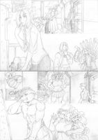 Spinnerete page pencils by chochi