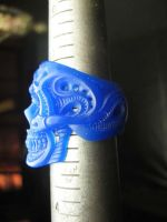Skull ring tutorial 10 by flintlockprivateer