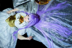 Sasha - Lost canvas -  saint seiya by PriSuicun