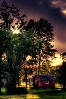 Sunset HDR by AyseSelen