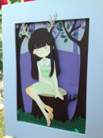 Elisa papercut by Watertae