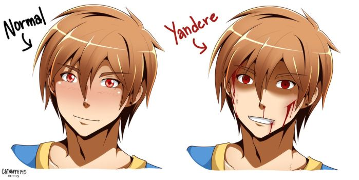 Yandere Headshot by catnappe143