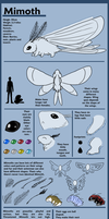 Mimoth species ref by Niicchan