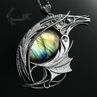 XAQTARIN DRACO (Dragon's Eye) by LUNARIEEN