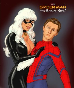 TLIID Spider-Man Movie Team-up with... Black Cat by Nick-Perks