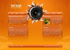 Portfolio v4 by: Amandhingra by WebMagic