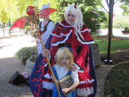 Anime Weekend Atlanta 2013-Shinki and Lil' Alice by jay421501