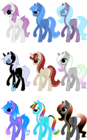 Adoptables sheet 1 by SeraphineAdopts
