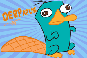Perry the DERPapus by Rica-Fox-Prower