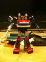 Transformers Masterpiece MP-19 Smokescreen by Kirby-Force