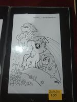 MLP artwork at Stockton-Con by LoneWHunt